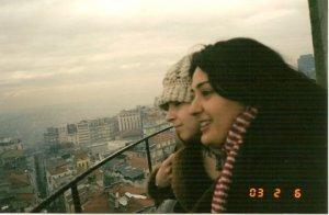 Sezen'le Fulsen, 2003 Şubat, Galata Kulesi